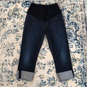 Citizens of Humanity cropped maternity jeans small